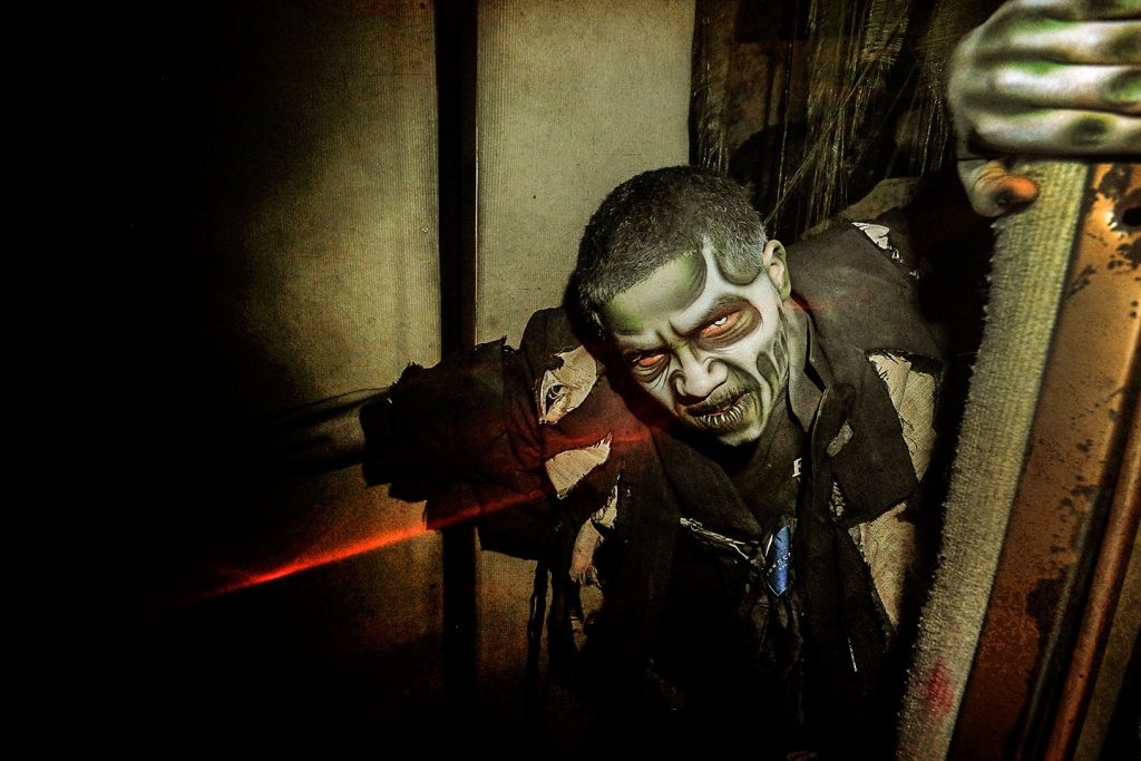 best haunted house - erebus haunted attraction
